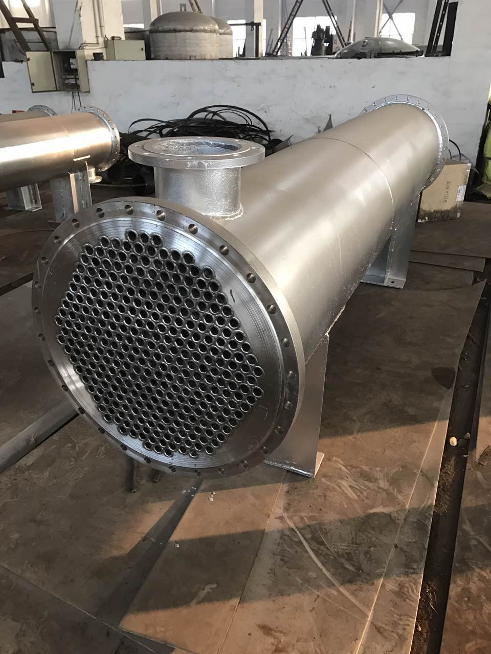 列管冷凝器生产