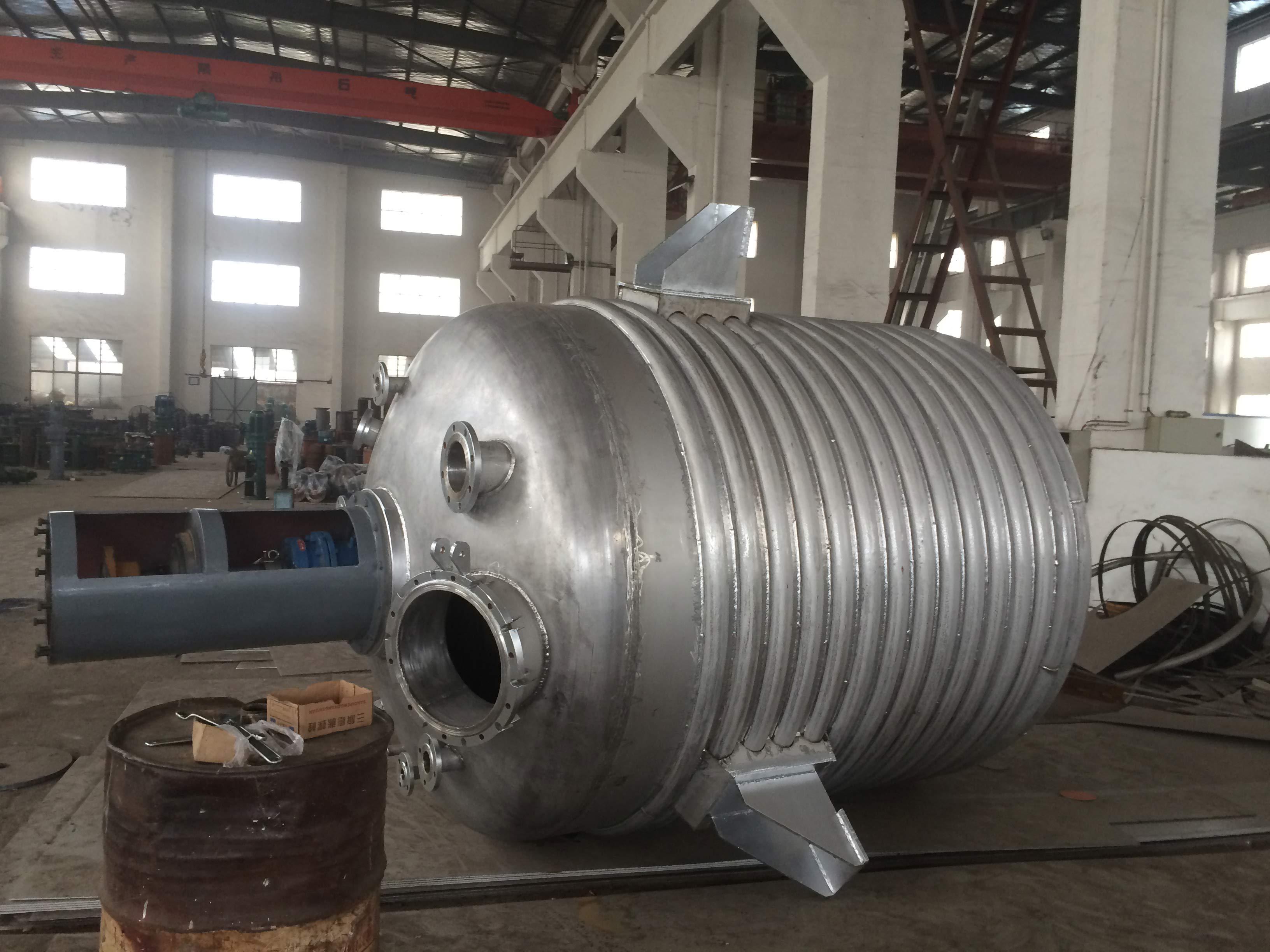 半管、盘管式不锈钢反应釜